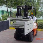中國液壓高效叉車附件多用途夾具