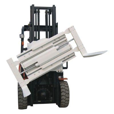 中國供應商3噸叉車夾具旋轉叉形夾